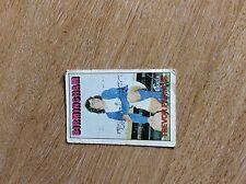 m6-1 trade card a&bc abc football no 191 francis red back