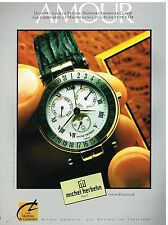 Publicité Advertising 1988 La Montre Newport par Michel Herbelin