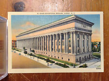 State Educational Building Albany NY Capitol Vintage Postcard Linen Unposted