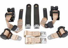 1974 - 1981 Chevrolet Camaro FRONT and REAR Seat Belt Set (TAN)
