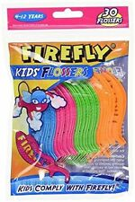 FIREFLY By Dr. Fresh KIDS Dental FLOSSERS Floss Picks! 30 Count~Ages 4 to 12 Yrs