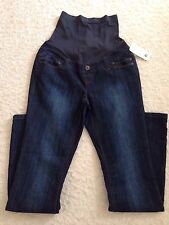 NWT Women's THYME Comfy Navy Blue Maternity Pants Size S/P