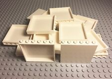 Lego New Bulk Lot X20 White Panel 1x6x5 Parts / Pieces For Large Project Walls