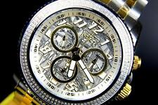 Mens Invicta Ocean Prestige .80ctw Diamonds Meteorite Dial Swiss Movt Watch New