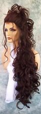 LACE FRONT LACE FRONT C PART LONG 25' WAVY WIG COLOR #4 GORGEOUS SEXY 1044