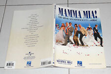 Spartiti MAMMA MIA Abba THE MOVIE SOUNDTRACK OST PIANO Sheet music Songbook