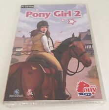 Pony Girl 2 - Windows PC CD-Rom Horse Video Game Stabenfeldt Brand New Sealed!