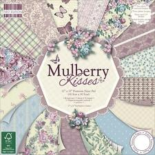 MULBERRY KISSES Scrapbook Paper Pad 6x6 64/pkg. FIRST EDITION Papers Cardstock