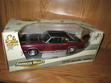 ertl elite 1970 chevelle malibu  AMERICAN MUSCLE 1/18    1 of 2500 maroon color
