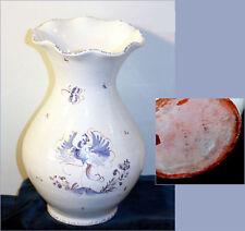 Vase en céramique / faience de Moustiers