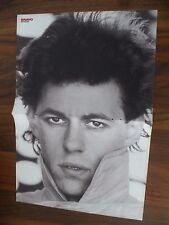 BRAVO Poster von Bob Geldorf + F.R. David aus Heft 48/1982