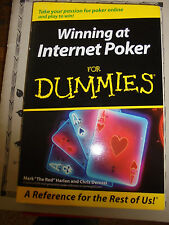 "Winning at Internet Poker for Dummies by Mark ""The Red"" Harlan book"
