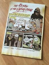 Limited Edition of 245 - Return of the Living Dead Comic Book Print - A3 Signed