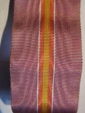 Nastro nastrino ribbon per medaglia volontari di guerra in Spagna