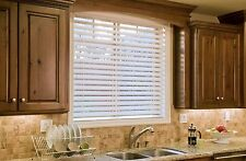 """Bravada Select, Superior 2 1/2"""" Faux Wood Blinds (White, 72"""" wide x 90"""" Length)"""
