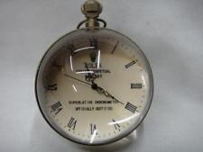 Work CHINESE archaize BRASS GLASS pocket watch BALL clock