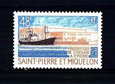 ST. PIERRE E MIQUELON - 1970 - Frigoriferi di stoccaggio a Saint-Pierre