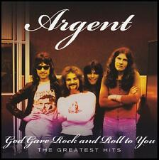 ARGENT - THE GREATEST HITS CD ~ HOLD YOUR HEAD UP ~ PSYCHEDELIC 70's ~ ROD *NEW*