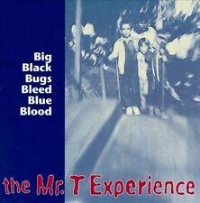 Big Black Bugs Bleed Blue Blood by The Mr. T Experience (CD, May-1997, Lookout)