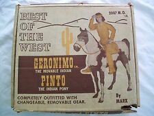 Marx Best of the West- Geronimo & Pinto