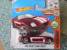Hot Wheels 2016 #024/250 FORD SHELBY COBRA CONCEPT red HW Digital Case M