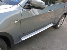 BMW X5 Typ E70/X70 Alu Trittbretter Medes Blanco