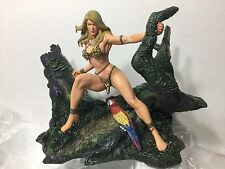 DYNAMITE ENTERTAINMENT FRANK CHO'S JUNGLE GIRL STATUE BY SNYDER 021 OF 100 ~NEW~
