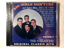4 SEASONS Big girls don't cry and 12 other hits vol. 2 cd FOUR SIGILLATO SEALED