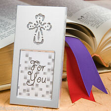 60 cross picture frame favor Christening Communion Confirmation favors placecard