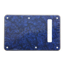 Blue Pearl Strat Guitar Tremolo/Trem Cover 3 Ply replacement