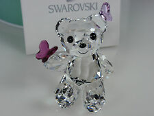 SWAROVSKI KRIS BEAR, PLAYFUL BUTTERFLIES MIB #1143450