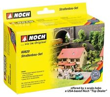 Noch 60820 HO N Z Gray Road Dirt Asphalt Customized Kit *NEW $0 SHIPPING