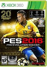 NEW Pro Evolution Soccer PES 2016 (Microsoft Xbox 360, 2015)
