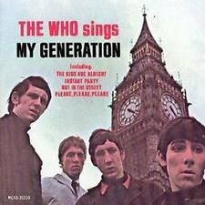 The Who : Sings My Generation [Us Import] CD (1999)