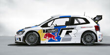 2013 VOLKSWAGEN POLO R WRC RALLY RACE CAR POSTER PRINT STYLE A 18x36