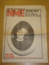 NME 1979 FEB 3 SHAM 69 ROCKY SHARPE KEVIN COYLE WIRE