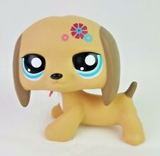 Littlest Pet Shop Giant Jumbo Huge Dog Dachshund Flower Deco  Preowned LPS
