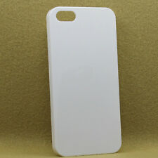 10 x 3D Sublimation Vacuum Oven White Blank Phone Plastic Cases iPhone 4