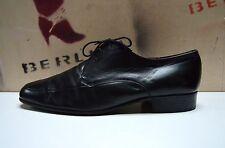 MANZ Herren Schnürschuhe 80er TRUE Vintage 90er Halbschuhe Business black UK11