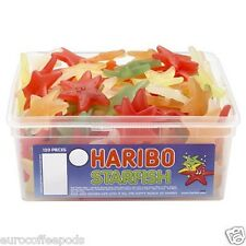 Haribo Sweets Tub Starfish 120 Pieces