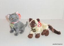 New TY Beanie Babies Garfield the Movie Plush Set Lot Arlene Nermal Cats P30