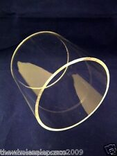 ACRYLIC CLEAR TUBE OFF CUT SALE 76MM DIAMETER X 2MM WALL. MORE IN OUR STORE