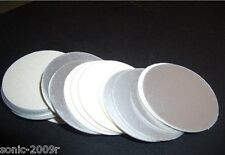 5000pcs For induction sealing 24mm plactic laminated aluminum foil lid liners