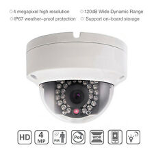 Hikvision DS-2CD2142FWD-I 4MP HD WDR POE Mini Dome IR CCTV IP Kamera Outdoor 4mm