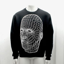 NEW Mens Christopher Kane Black & White Wire Sweat Shirt Top GENUINE RRP £650 XL