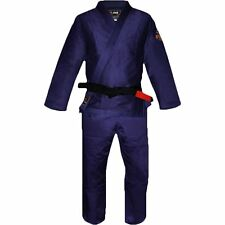 New Fuji All Around Mens Brazilian Jiu Jitsu Gi Jiu-Jitsu BJJ - Navy Blue - A2