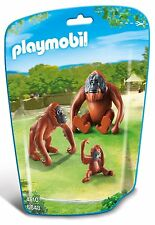 Playmobil 6648 City Life Zoo Orangutan Family