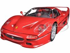 FERRARI F50 RED 1:18 DIECAST MODEL CAR BY BBURAGO 16004
