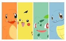 "New Pikachu - Japanese Anime Pokemon Art Game 22""x14"" Poster"