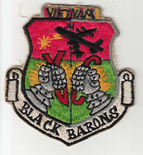 Wartime Black Barons Patch / USAF Insignia